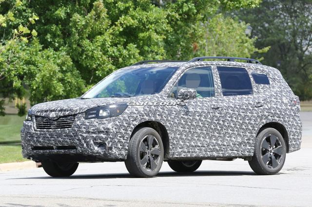 Thêm ảnh Subaru Forester 2019 trước ngày ra mắt - Ảnh 1.