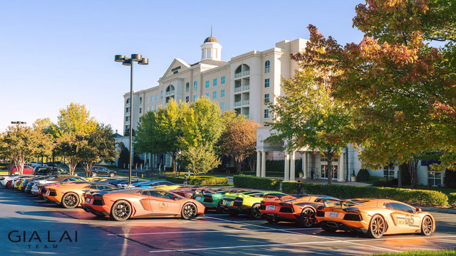 "Gia Lai Team bổ sung một ""siêu bò"" Lamborghini Aventador S - Ảnh 2."
