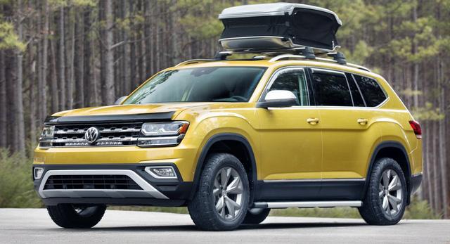 SUV 5 chỗ mới của Volkswagen nhá hàng lần cuối trước khi ra mắt - Ảnh 2.