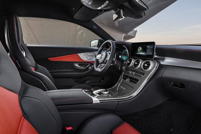 Thêm 2 cấp số, Mercedes-AMG C63 càng bá chủ tốc độ trong phân khúc - Ảnh 14.