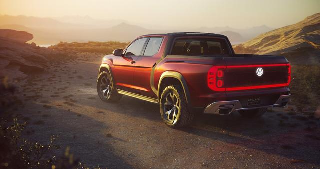 Volkswagen trình làng concept cạnh tranh Ford Ranger - Ảnh 3.