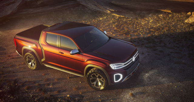 Volkswagen trình làng concept cạnh tranh Ford Ranger - Ảnh 1.