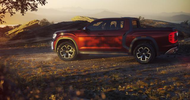 Volkswagen trình làng concept cạnh tranh Ford Ranger - Ảnh 2.