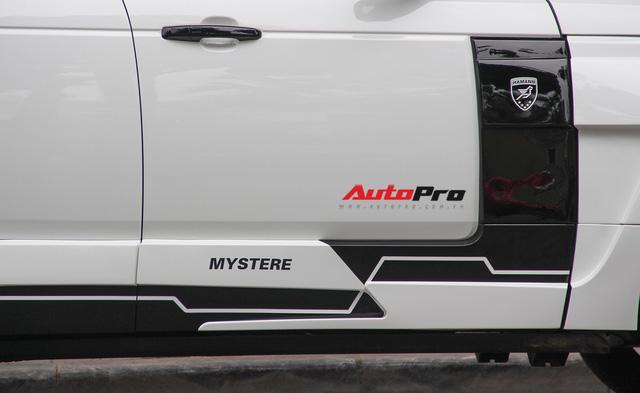 SUV hạng sang Range Rover độ bodykit hầm hố trên phố Hà Nội - Ảnh 14.