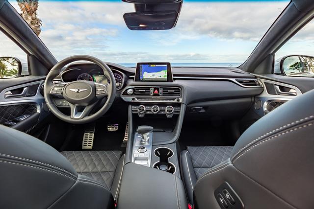 Ra mắt Genesis G70 2019: Kỳ phùng địch thủ của BMW 3-Series - Ảnh 7.