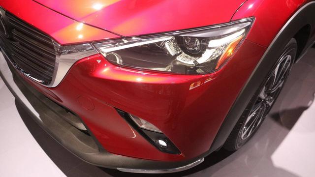 Mazda CX-3 bất ngờ được nâng cấp - Ảnh 8.