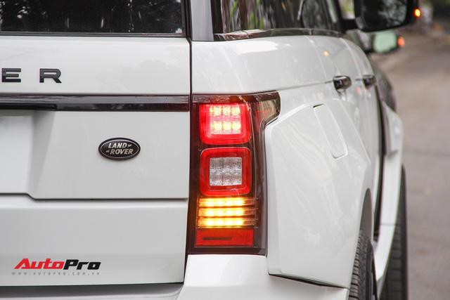 SUV hạng sang Range Rover độ bodykit hầm hố trên phố Hà Nội - Ảnh 13.