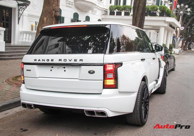 SUV hạng sang Range Rover độ bodykit hầm hố trên phố Hà Nội - Ảnh 5.