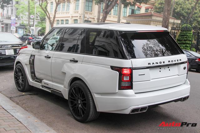 SUV hạng sang Range Rover độ bodykit hầm hố trên phố Hà Nội - Ảnh 12.