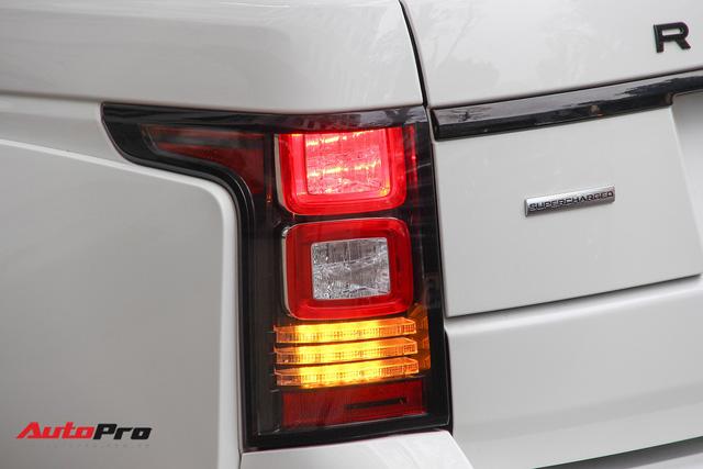 SUV hạng sang Range Rover độ bodykit hầm hố trên phố Hà Nội - Ảnh 11.