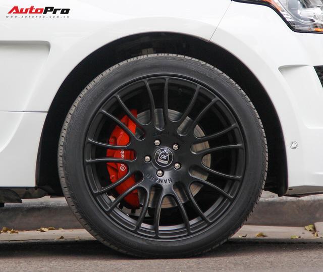 SUV hạng sang Range Rover độ bodykit hầm hố trên phố Hà Nội - Ảnh 6.