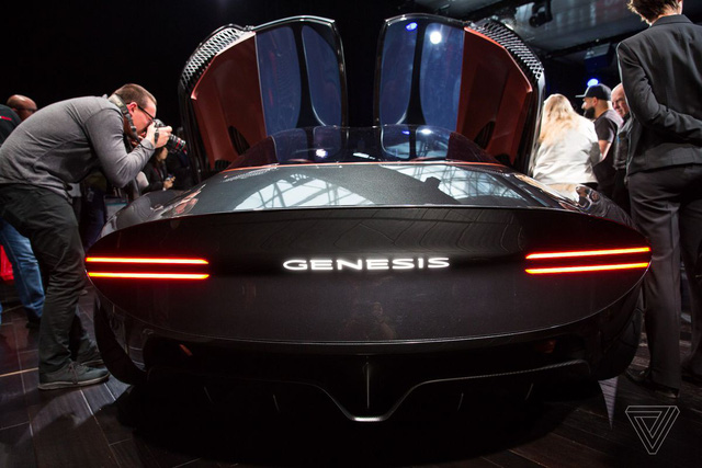 Genesis Essentia Concept: Đỉnh cao của xe Hàn - Ảnh 15.