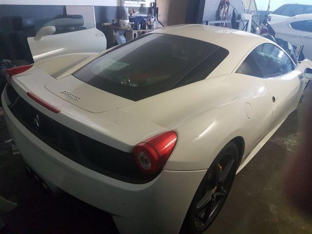 Ferrari 458 Italia bị đánh cắp và lột hết phụ tùng - Ảnh 3.