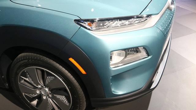 Hyundai Kona động cơ điện: Sạc một lần, chạy hơn 400 km - Ảnh 4.