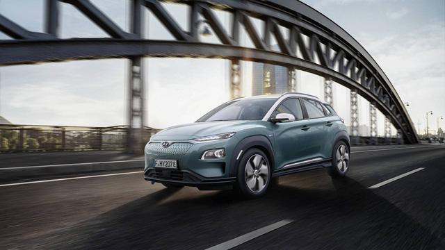 Hyundai Kona động cơ điện: Sạc một lần, chạy hơn 400 km - Ảnh 2.