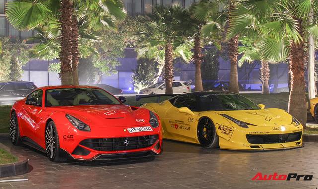 Ảnh đẹp dàn siêu xe Car & Passion dưới ánh đèn đêm Hà Nội - Ảnh 7.