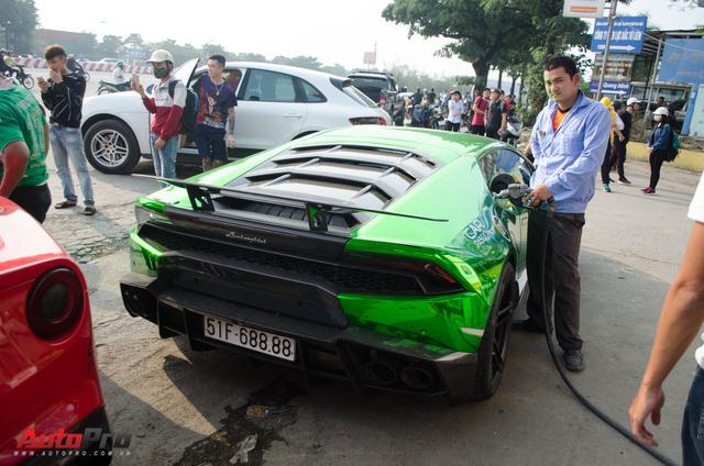 Đổ xăng cho siêu xe tham dự Car & Passion hết bao nhiêu tiền? - Ảnh 6.