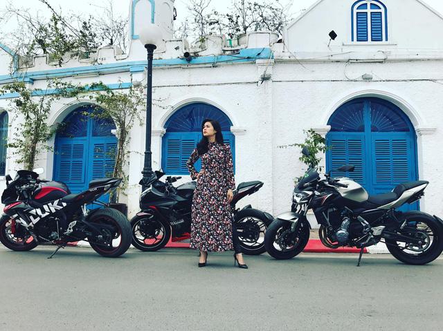 Nữ biker 8X chạy xuyên Việt trên Kawasaki Ninja 300: Đi để thử thách bản thân - Ảnh 2.