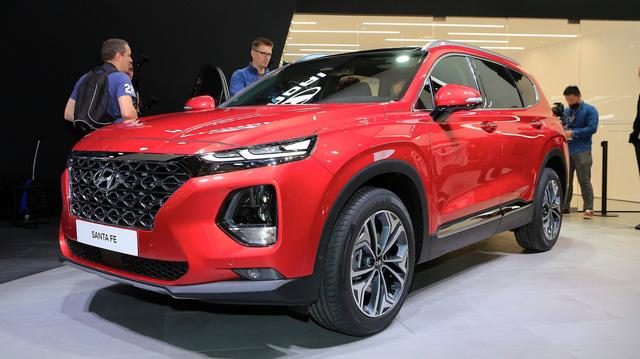 Hyundai Santa Fe 2019 sắp có động cơ hybrid và plug-in hybrid