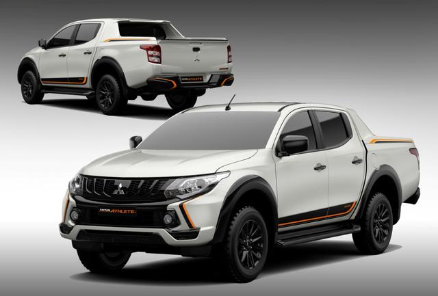 Mitsubishi Triton phiên bản đặc biệt Athlete giá 746 triệu đồng tại Việt Nam - Ảnh 1.