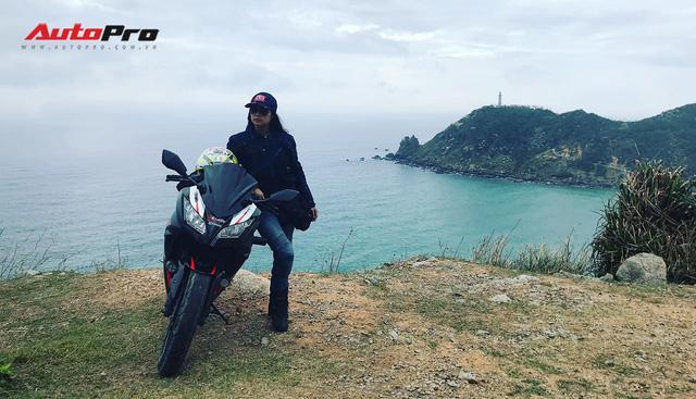 Nữ biker 8X chạy xuyên Việt trên Kawasaki Ninja 300: Đi để thử thách bản thân - Ảnh 12.