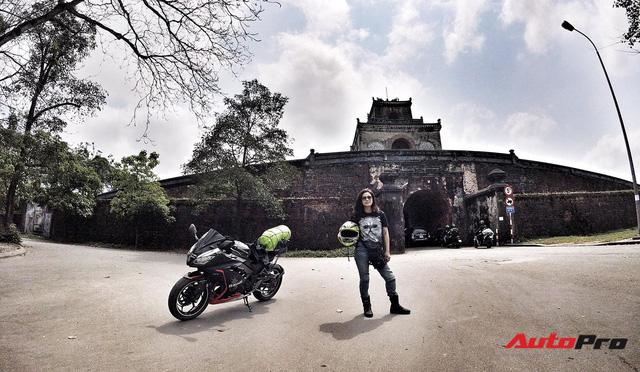 Nữ biker 8X chạy xuyên Việt trên Kawasaki Ninja 300: Đi để thử thách bản thân - Ảnh 10.