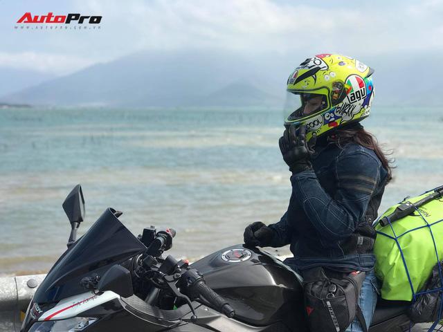 Nữ biker 8X chạy xuyên Việt trên Kawasaki Ninja 300: Đi để thử thách bản thân - Ảnh 3.
