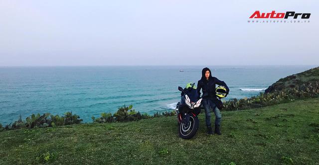 Nữ biker 8X chạy xuyên Việt trên Kawasaki Ninja 300: Đi để thử thách bản thân - Ảnh 16.