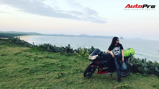 Nữ biker 8X chạy xuyên Việt trên Kawasaki Ninja 300: Đi để thử thách bản thân - Ảnh 4.