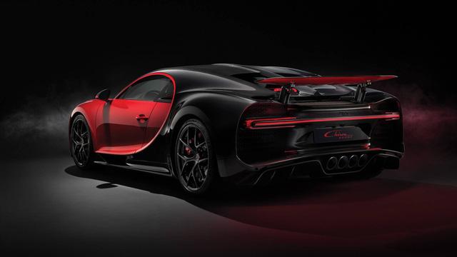 Bugatti Chiron thêm phiên bản mới: Giảm trọng lượng, thay giảm xóc và tút tát thiết kế - Ảnh 6.