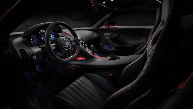 Bugatti Chiron thêm phiên bản mới: Giảm trọng lượng, thay giảm xóc và tút tát thiết kế - Ảnh 7.