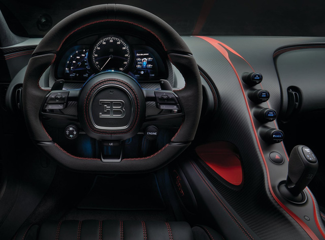 Bugatti Chiron thêm phiên bản mới: Giảm trọng lượng, thay giảm xóc và tút tát thiết kế - Ảnh 2.