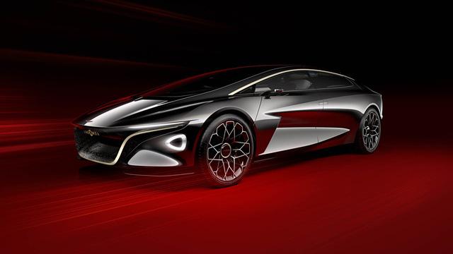 Aston Martin Lagonda Vision Concept - Khi xe thể thao có thể tự lái - Ảnh 1.