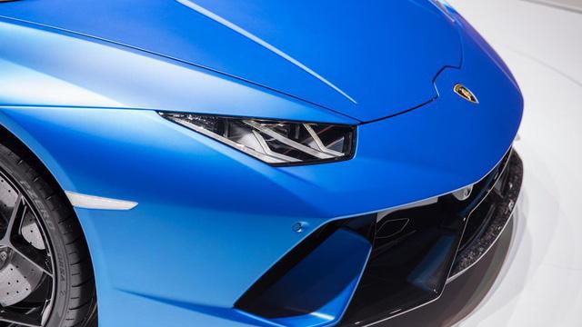 Lamborghini trình làng siêu xe mui trần hiệu suất cao Huracan Performante Spyder - Ảnh 13.