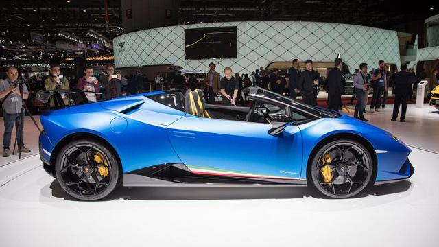 Lamborghini trình làng siêu xe mui trần hiệu suất cao Huracan Performante Spyder - Ảnh 4.