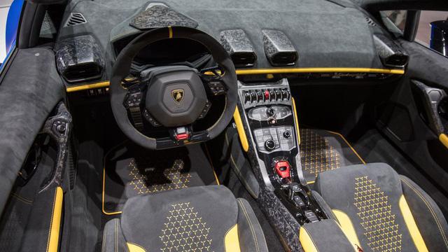 Lamborghini trình làng siêu xe mui trần hiệu suất cao Huracan Performante Spyder - Ảnh 14.