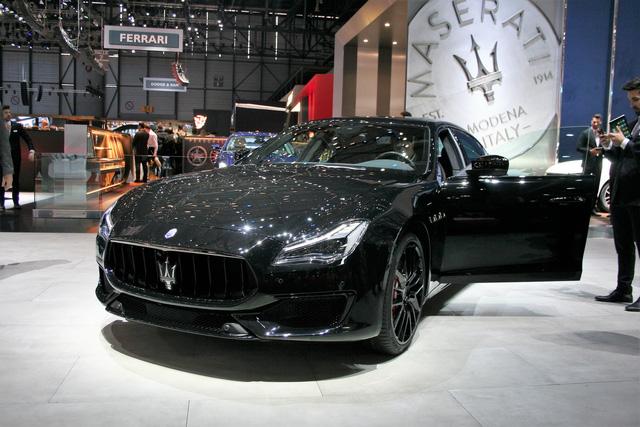 Maserati phủ bóng đen lên triển lãm Geneva với dàn Nerissimo Edition - Ảnh 1.