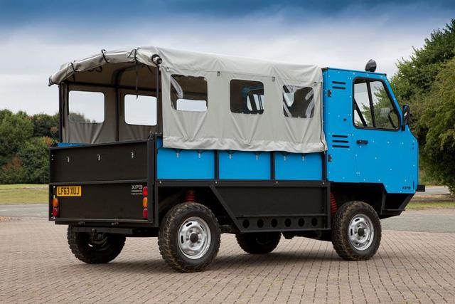 Xe tải tự lắp ráp như chơi xếp hình đầu tiên trên thế giới - Ảnh 2.