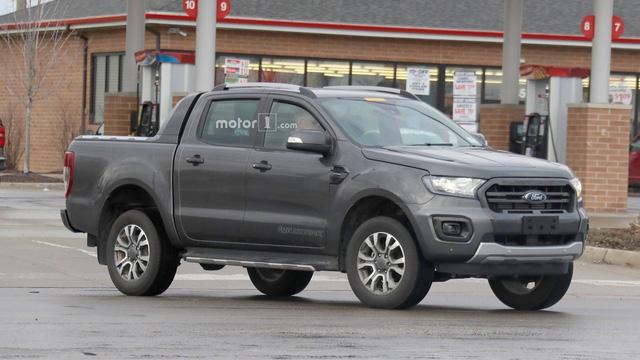 Ford Ranger Wildtrak bị bắt gặp chạy thử cạnh Ranger Raptor tại Mỹ - Ảnh 2.