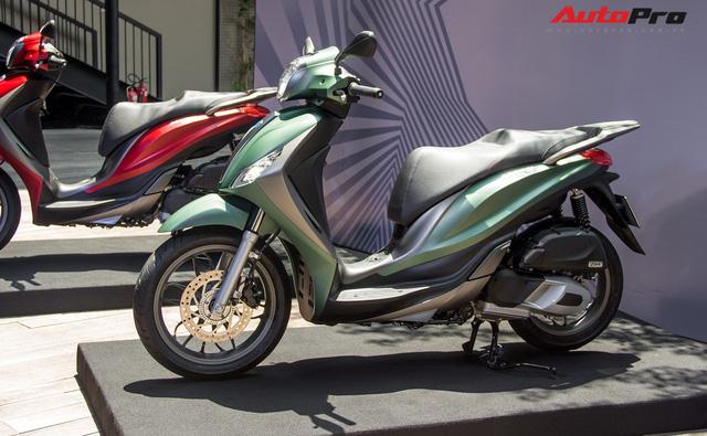 Tăng giá, Piaggio Medley mới có gì để cạnh tranh SH125i ABS tại Việt Nam? - Ảnh 12.