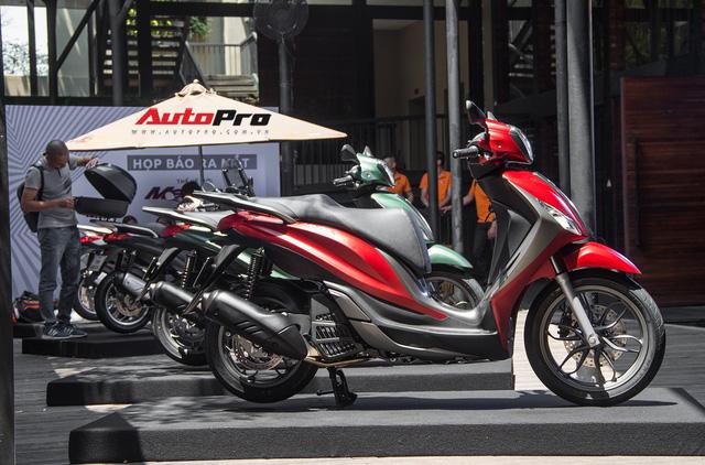 Tăng giá, Piaggio Medley mới có gì để cạnh tranh SH125i ABS tại Việt Nam? - Ảnh 2.