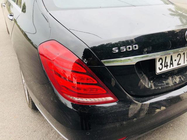 """Mercedes-Benz S400 2014 """"nâng cấp"""" lên S500 được rao bán ngang giá lăn bánh E200 mới - Ảnh 1."""