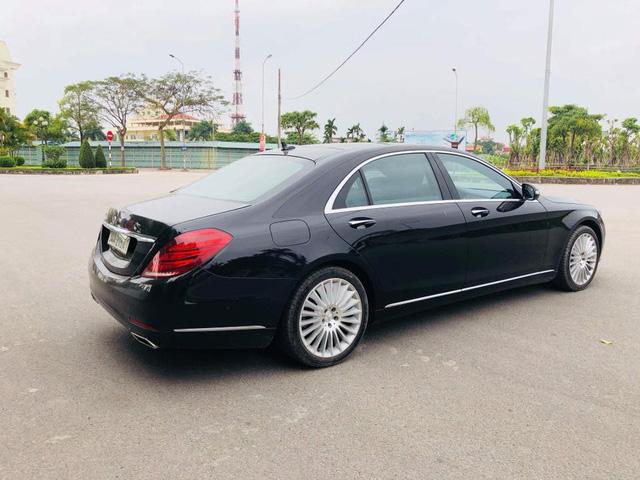 """Mercedes-Benz S400 2014 """"nâng cấp"""" lên S500 được rao bán ngang giá lăn bánh E200 mới - Ảnh 4."""