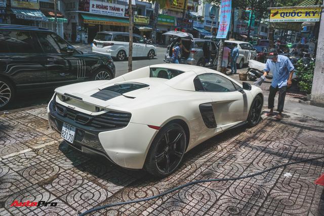 Chia tay bộ đôi Rolls-Royce, ông trùm cafe Trung Nguyên tiếp tục bán McLaren 650S Spider - Ảnh 1.