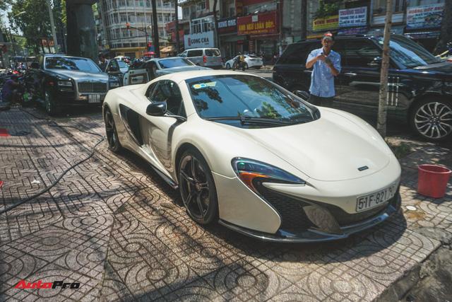 Chia tay bộ đôi Rolls-Royce, ông trùm cafe Trung Nguyên tiếp tục bán McLaren 650S Spider - Ảnh 3.