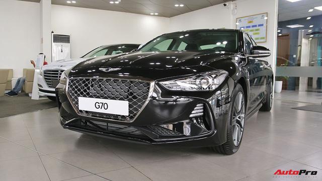 """Chi tiết Genesis G70 - Xe Hàn giá 1,7 tỷ đồng cạnh tranh """"Mẹc C"""" tại Việt Nam"""