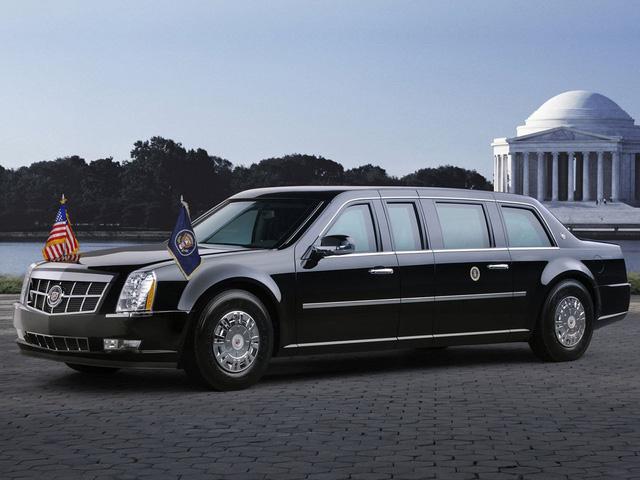 Siêu limousine Cadillac chống đạn mới của Tổng thống Trump chuẩn bị trình làng - Ảnh 1.