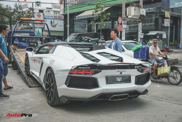 Lamborghini Aventador Roadster bất ngờ xuất hiện tại Sài Gòn - Ảnh 5.