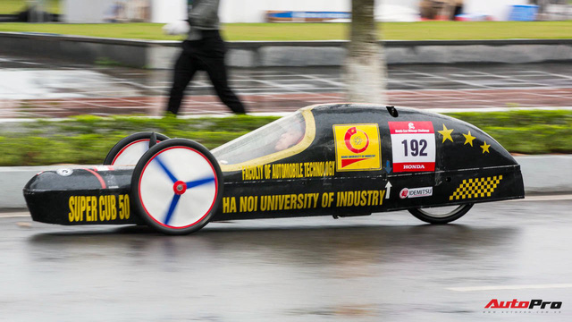 Xe tự chế của sinh viên Việt Nam đi được gần 587 km/lít xăng - Ảnh 5.