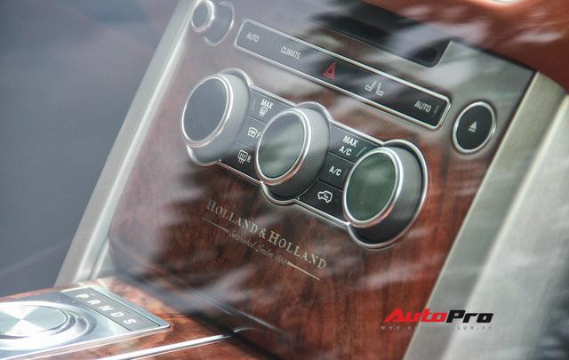 Range Rover Holland & Holland - SUV đắt nhất của hãng xe Anh quốc về Việt Nam - Ảnh 6.